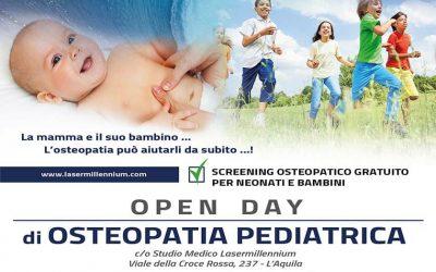 OPEN DAY DI OSTEOPATIA PEDIATRICA